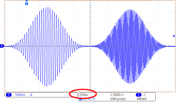 Example of simultaneous AM+FM